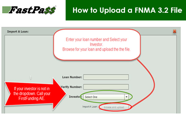 FastPass - How to Upload a FNMA 3.2 File course image