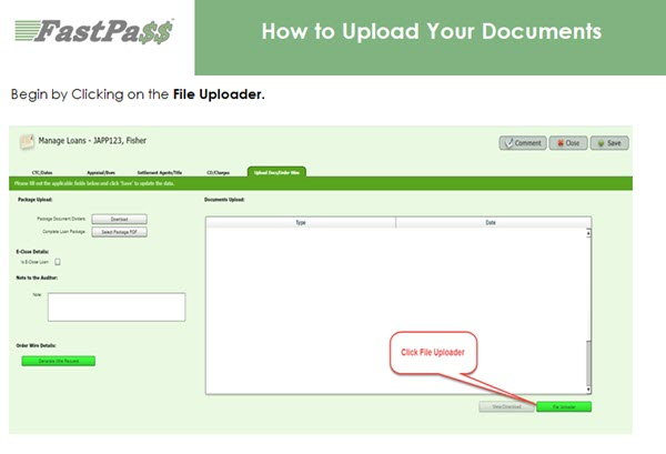 Fast Pass - How to Upload Your Documents course image
