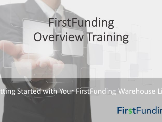 FirstFunding Overview Training course image